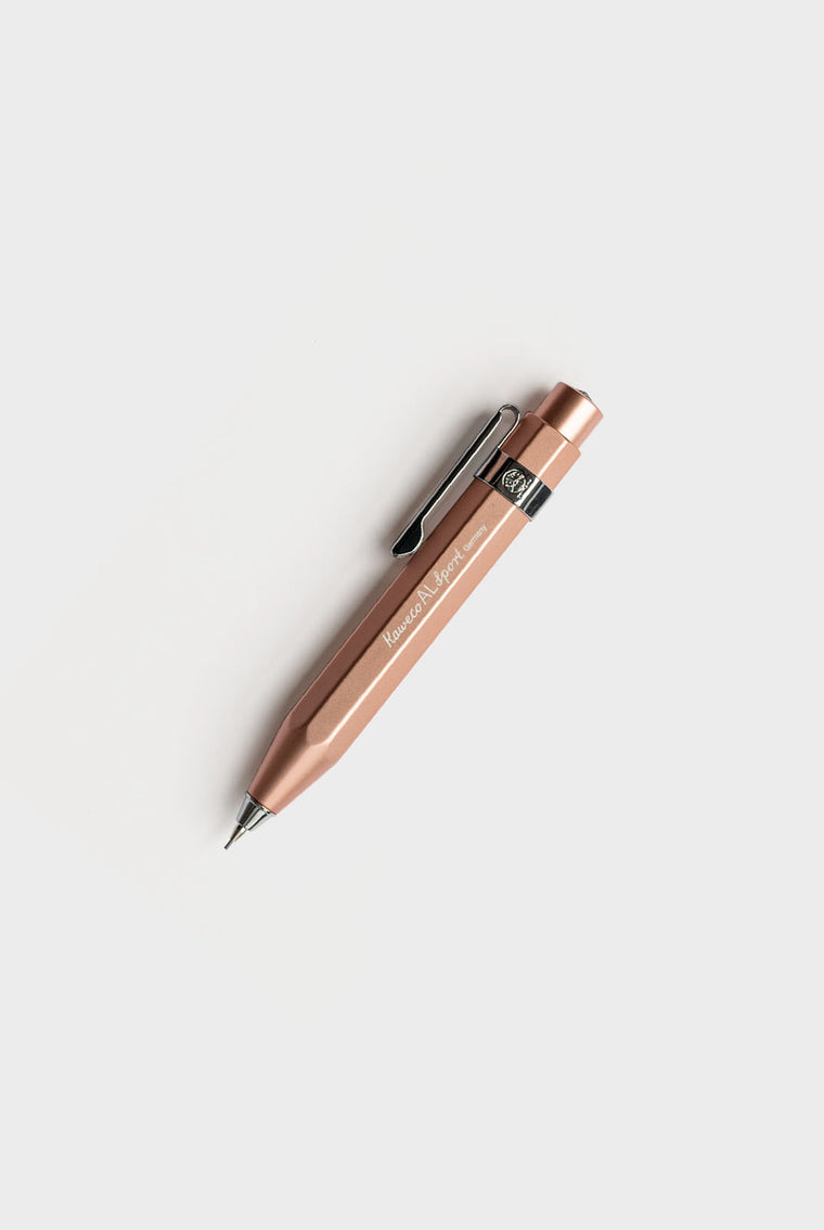 Kaweco AL Sport 0.7mm Mechanical Pencil in Rose Gold
