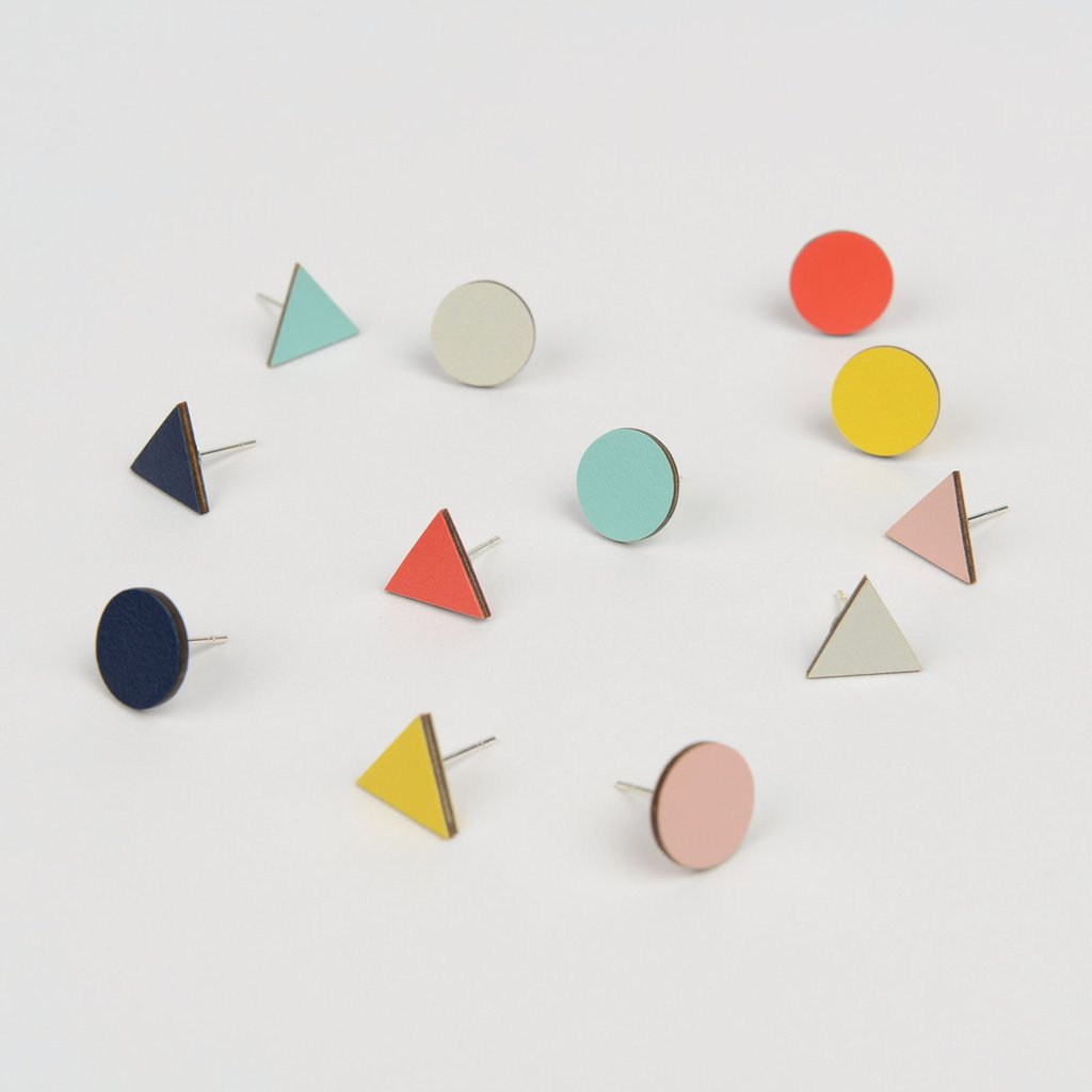 Tom Pigeon Form Series Mix Match Earrings in Yellow. Tom Pigeon. Compendium Design Store. AfterPay, ZipPay accepted.