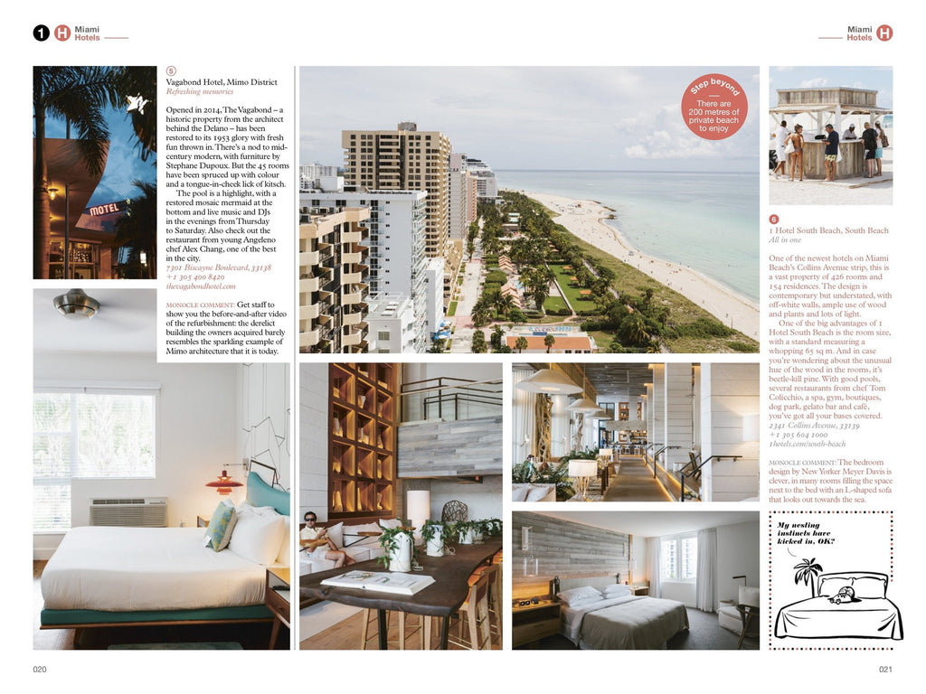 The Monocle Travel Guide No. 08 Miami. Compendium Design Store, Fremantle. AfterPay, ZipPay accepted.