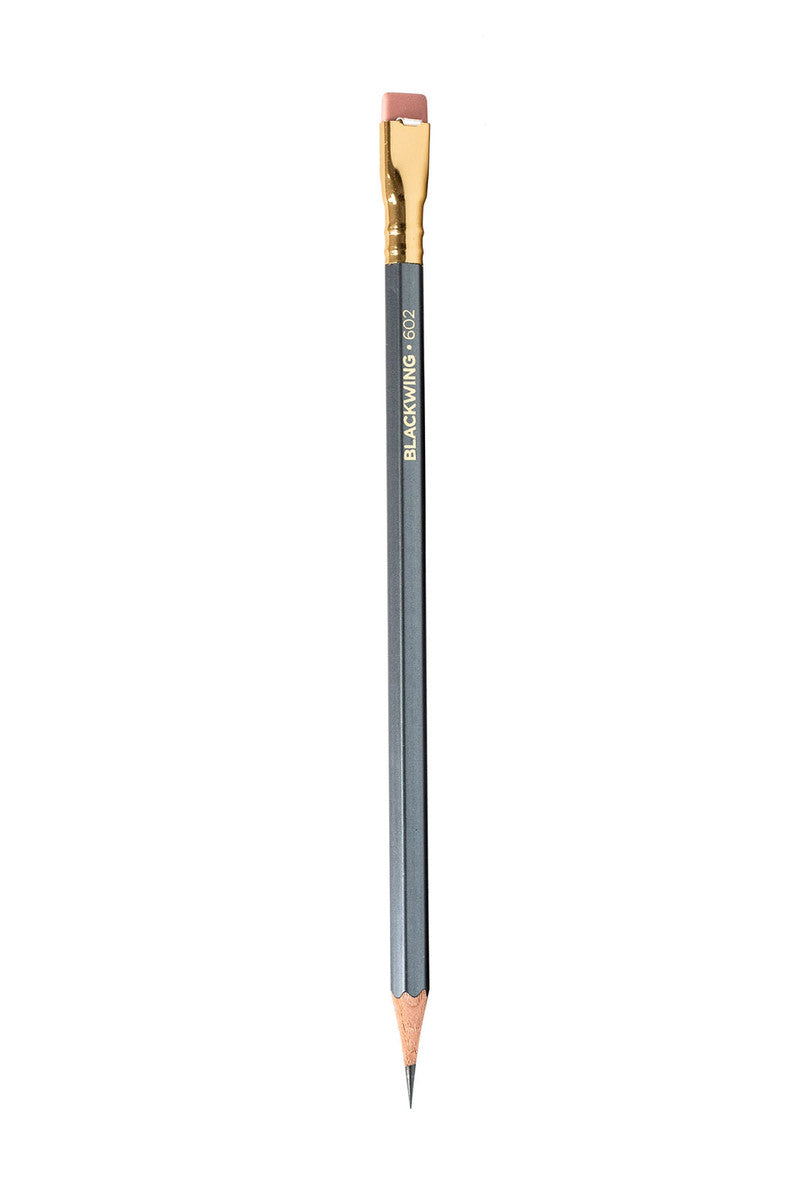 Blackwing Matte 602 Grey Graphite Pencil · Single. Compendium Design Store, Fremantle. AfterPay, ZipPay accepted.