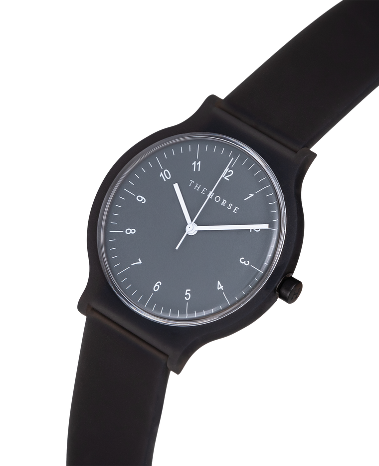 The Blockout Watch in Black