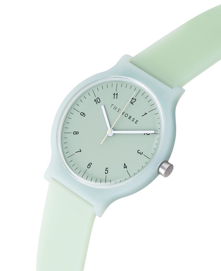 The Blockout Watch in Sage Green