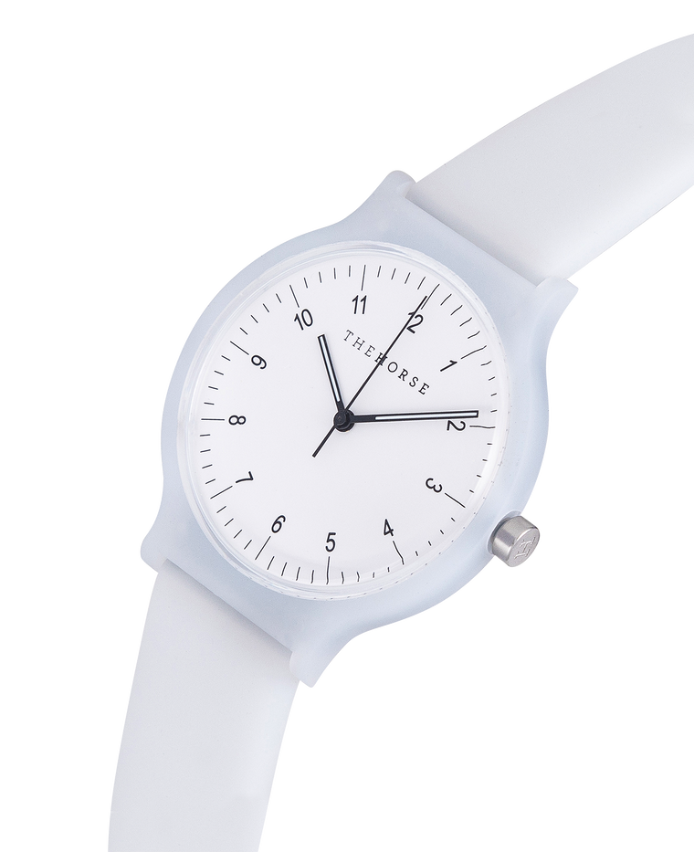 SA4 The Horse Blockout Unisex Watch in White