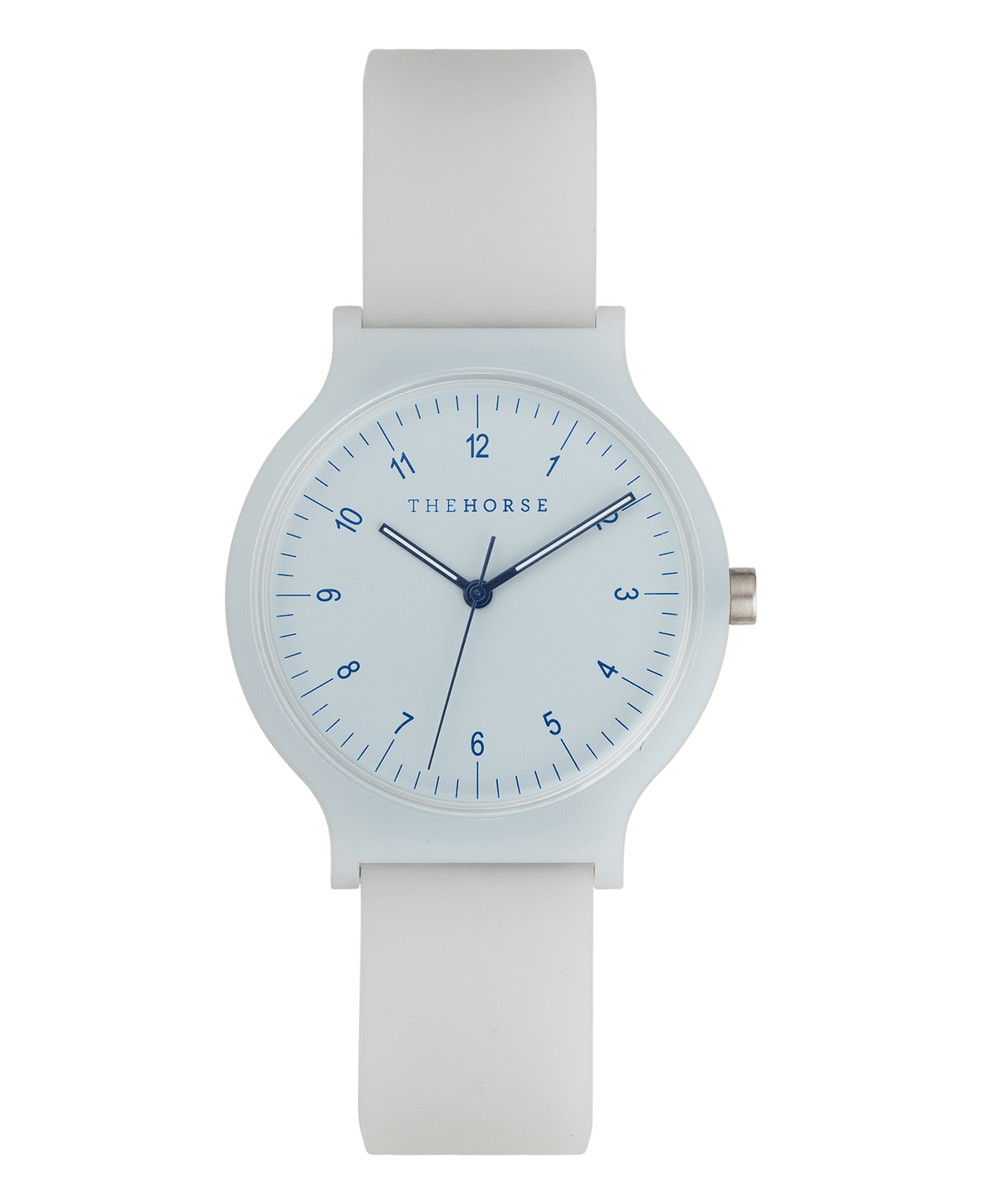 SA8 The Horse Blockout Unisex Watch in Powder Blue. Compendium Design Store, Fremantle. AfterPay, ZipPay accepted.