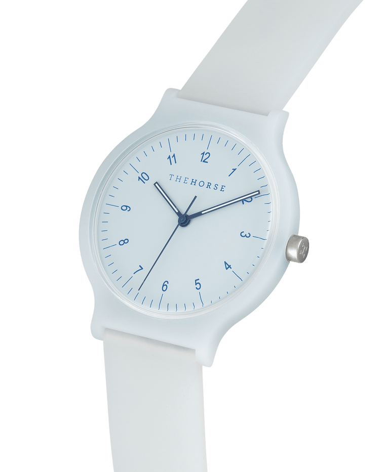 SA8 The Horse Blockout Unisex Watch in Powder Blue