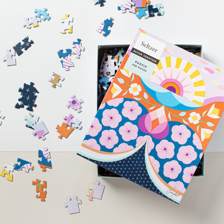 Sunshine Flowers 500 Piece Puzzle
