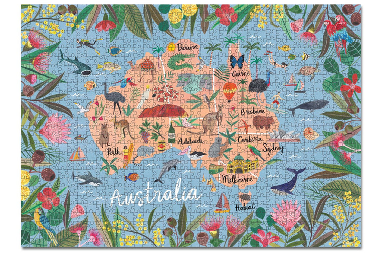 Journey of Something Australia 1000 Piece Puzzle