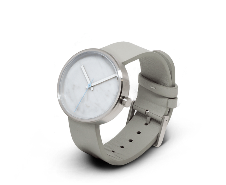 Aark Collective Carrara Marble unisex watch