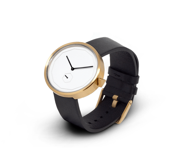 Aark Collective Classic Neu unisex watch in Gold/Black
