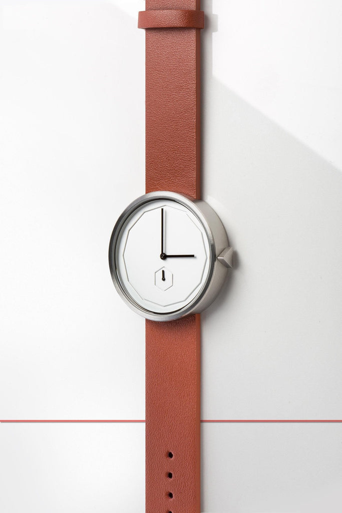 Aark Collective Watches Aark Collective Classic Neu unisex watch in Silver/Tan