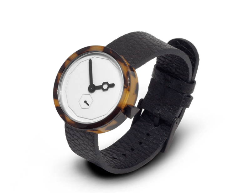 Aark Collective Classic Tortoise Shell unisex watch