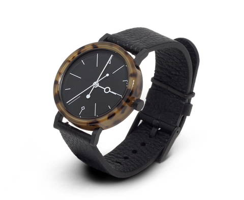 Aark Collective Watches Aark Collective Shell watch in Brown & Black
