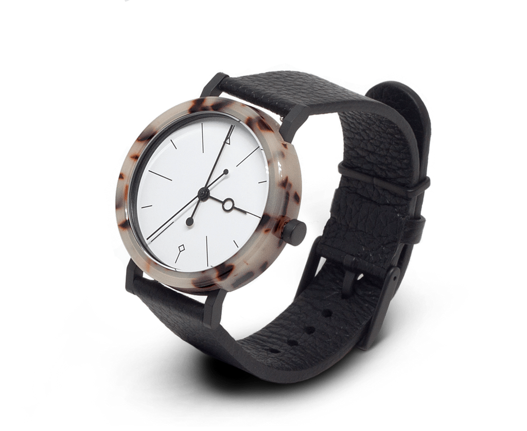 Aark Collective Shell Watch White. Compendium Design Store, Fremantle. AfterPay, ZipPay accepted.