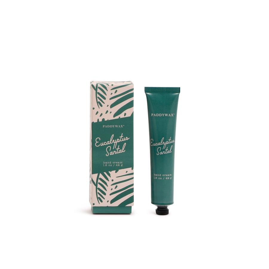 Eucalyptus Santal Hand Cream. Compendium Design Store, Fremantle. AfterPay, ZipPay accepted.