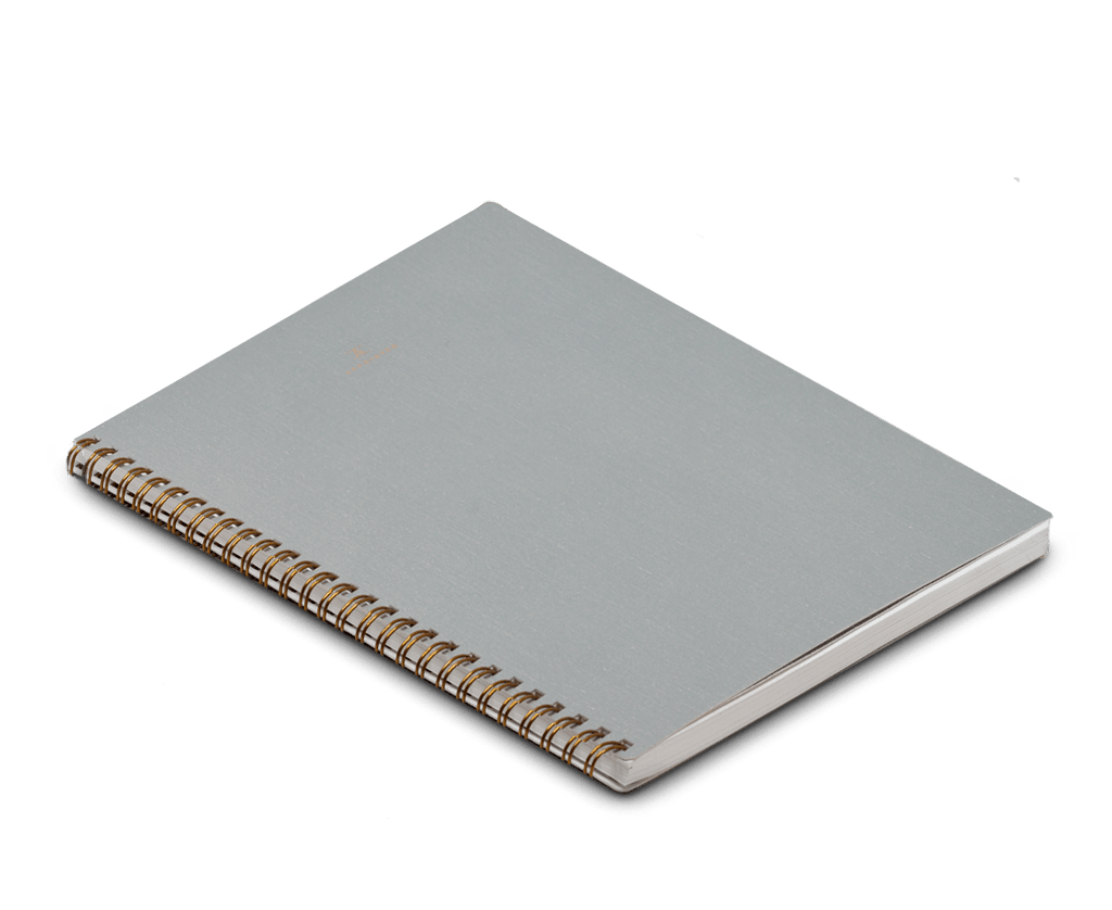 Appointed Notebook Extra Large Softcover in Dove Grey