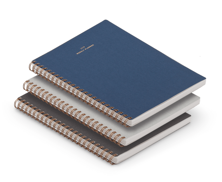 Appointed 2019 Weekly Planner Notebook