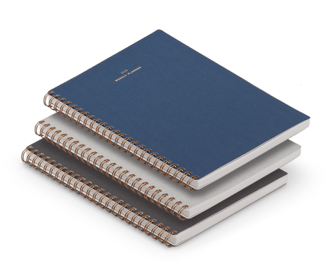 Appointed 2018-19 Weekly Planner Notebook