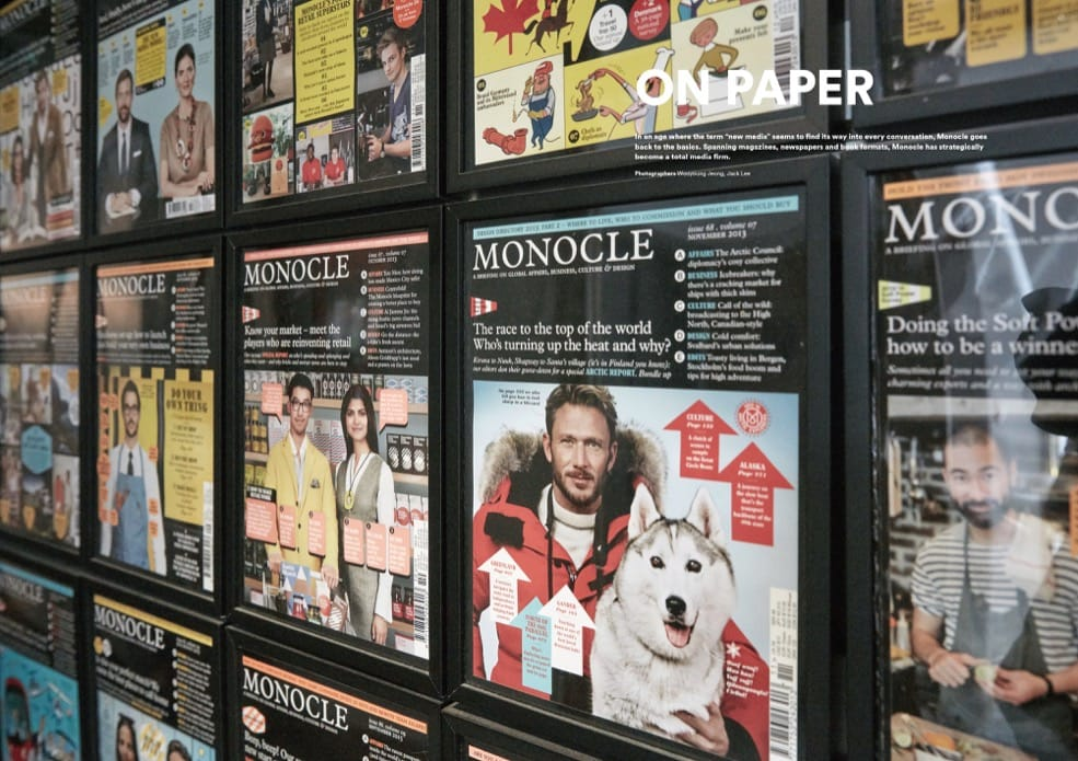 Brand Documentary Magazine No 60 Monocle. Compendium Design Store, Fremantle. AfterPay, ZipPay accepted.