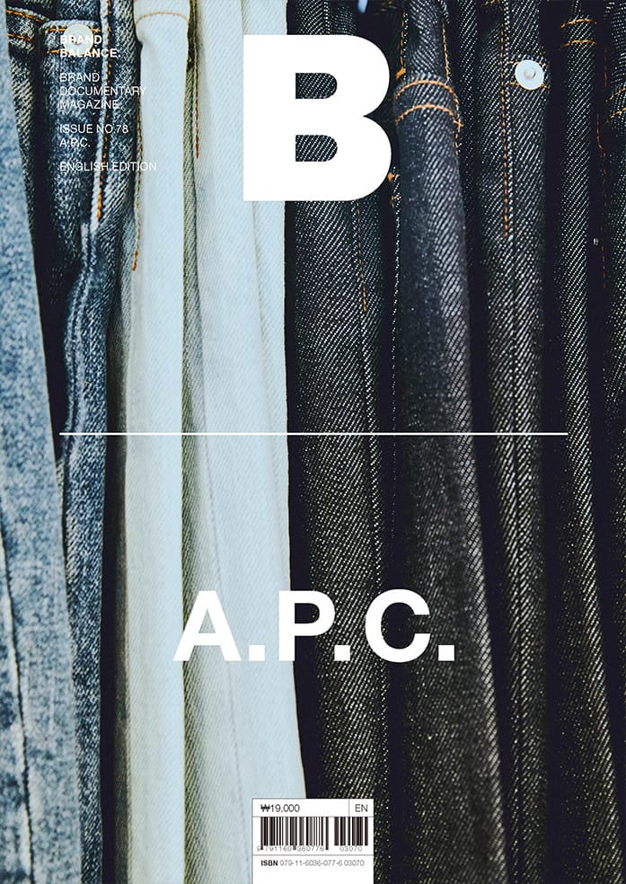 Brand Documentary Magazine No 78 A.P.C.. Compendium Design Store, Fremantle. AfterPay, ZipPay accepted.