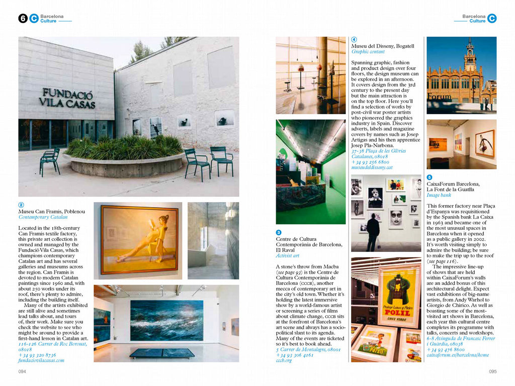 The Monocle Travel Guide to Barcelona No. 29. Monocle. Compendium Design Store. AfterPay, ZipPay accepted.