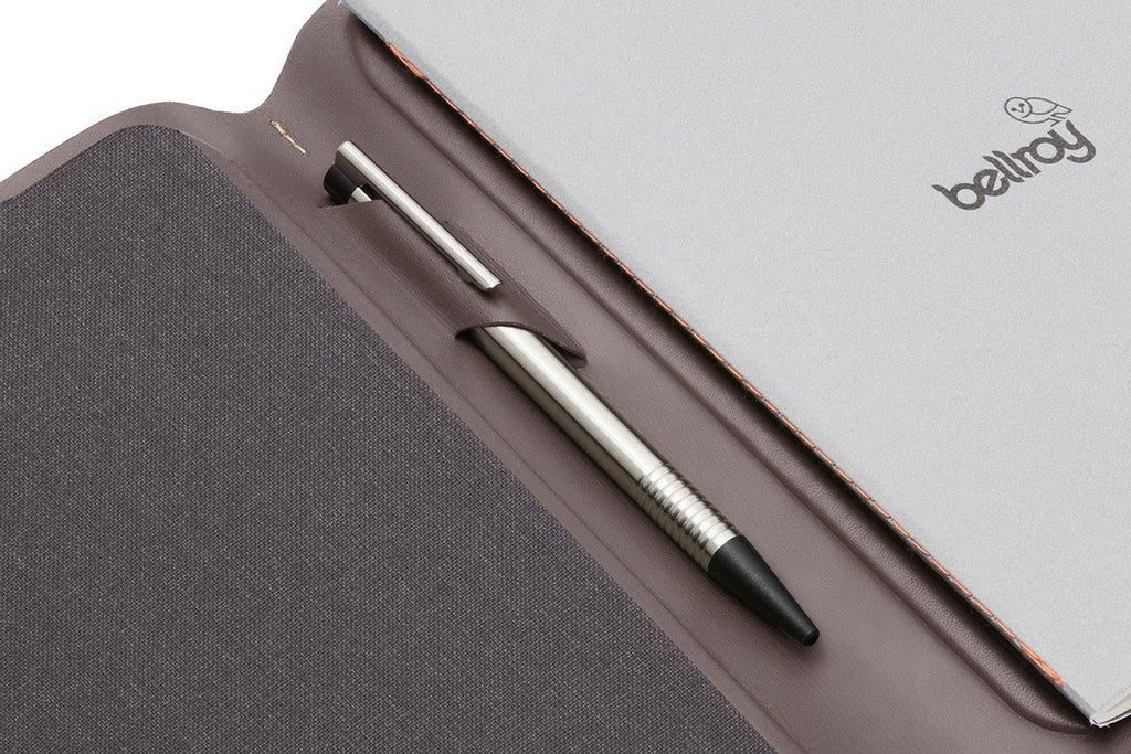 Bellroy Accessories Bellroy leather A5 Size Notebook Cover
