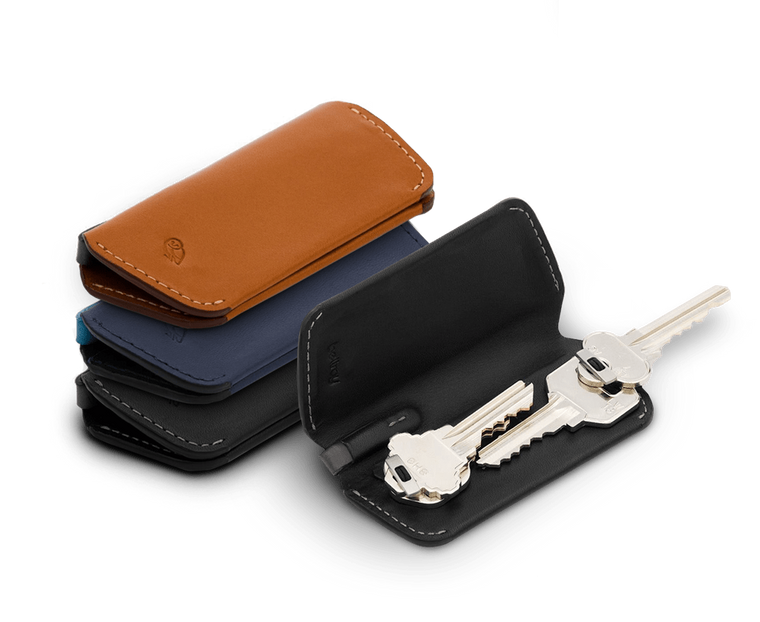 Bellroy Leather Key Cover Plus (Holds 4-8 keys) Second Edition