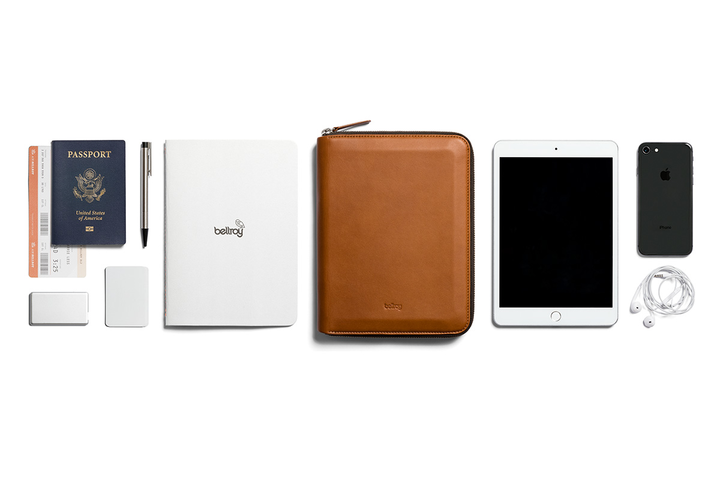 Bellroy Leather Compendium Work Folio A5. Bellroy. Compendium Design Store, Fremantle. AfterPay, ZipPay accepted.
