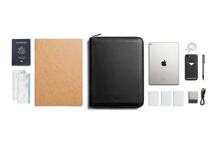 Bellroy Leather Compendium Work Folio A4. Bellroy. Compendium Design Store, Fremantle. AfterPay, ZipPay accepted.