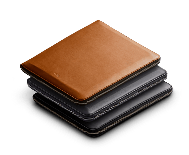 Bellroy Leather Compendium Work Folio A4 New