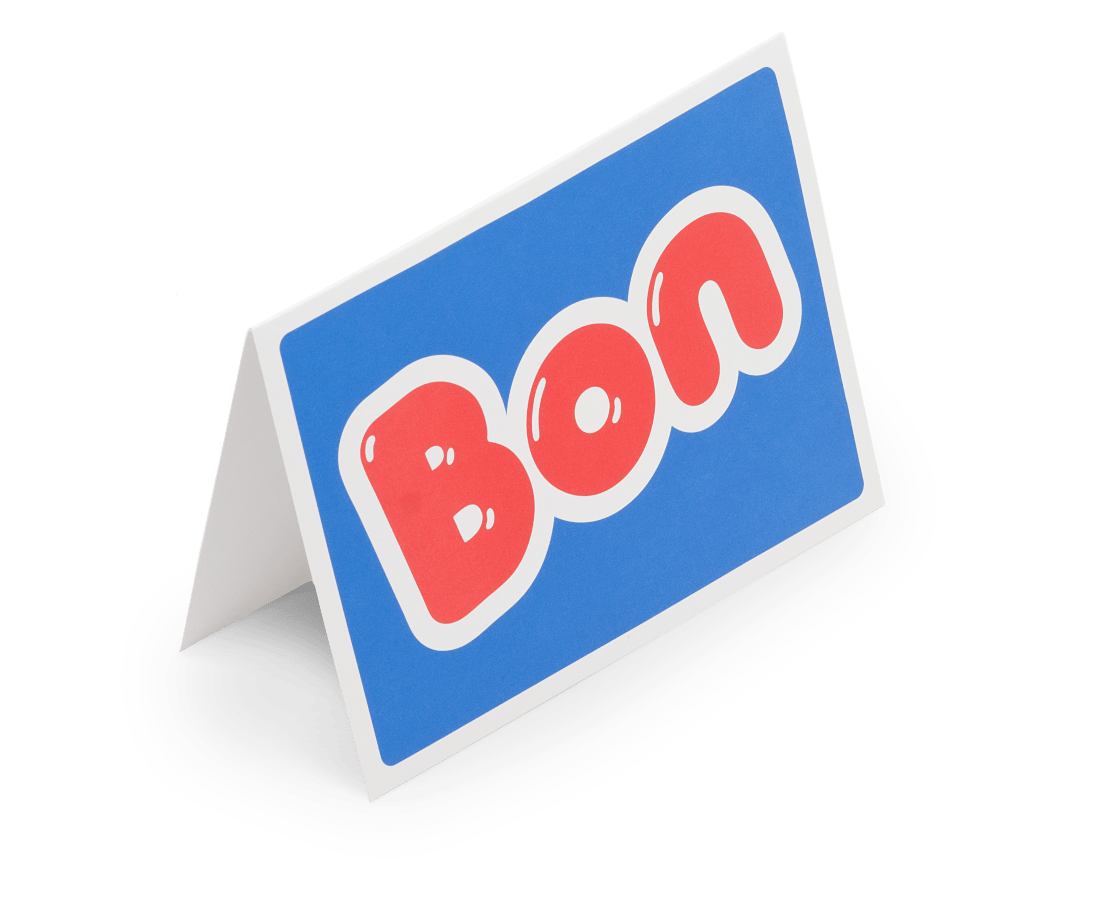 BON Greeting Card. Compendium Design Store, Fremantle. AfterPay, ZipPay accepted.