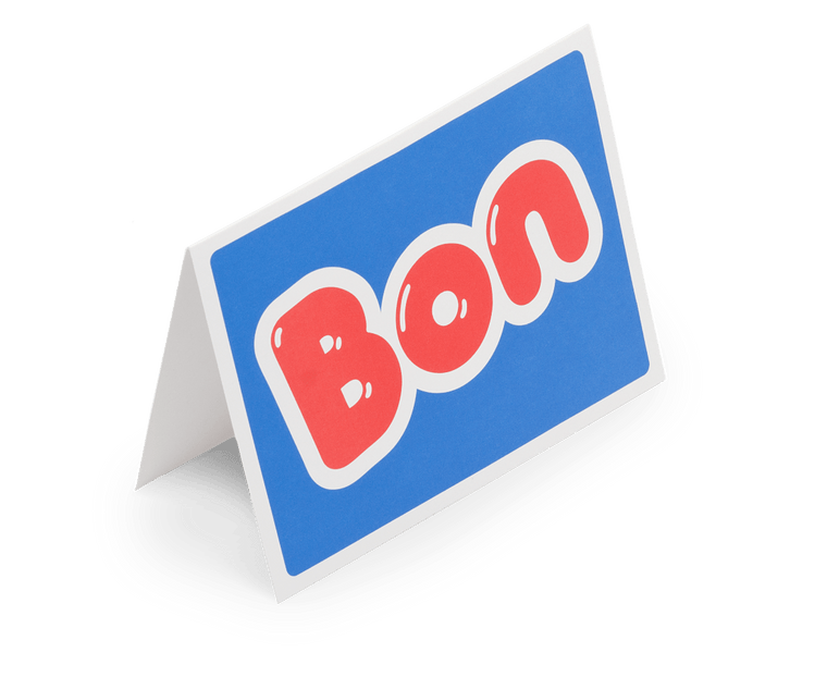 BON Greeting Card