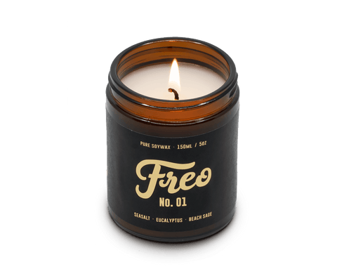Fremantle Sea Salt Candle · Les Bobos x Freo Goods Co