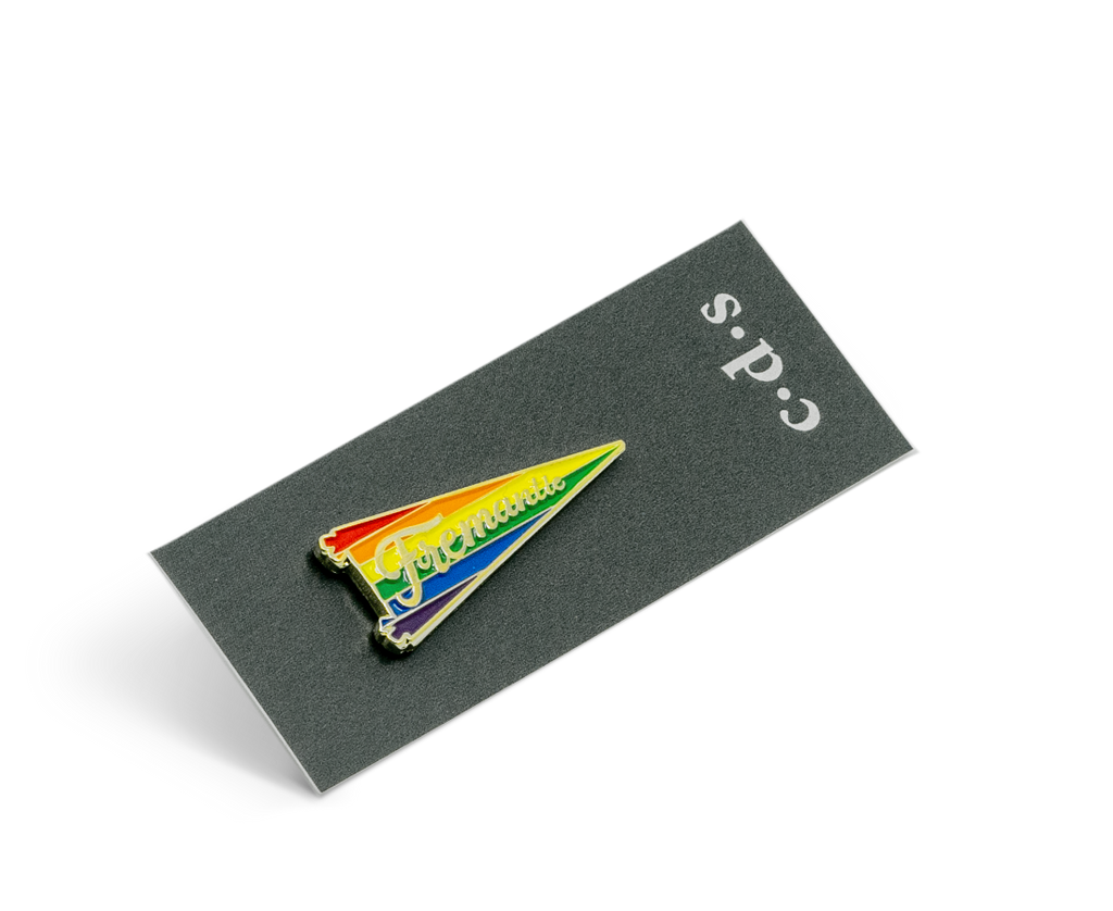 Fremantle Pride Pennant Flag Pin