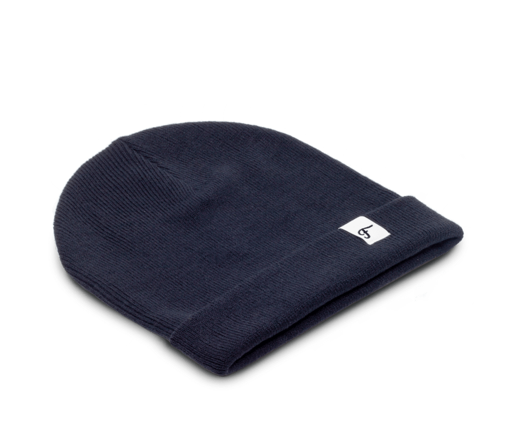 Freo Goods Co Winter Beanie in Navy. Compendium Design Store, Fremantle. AfterPay, ZipPay accepted.