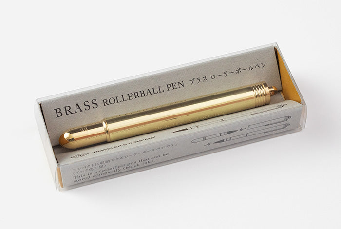 Travelers Company Japan Brass Rollerball Pen