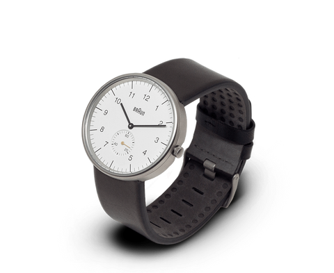 Braun Watches Braun Classic watch in White, Stainless Steel & Black