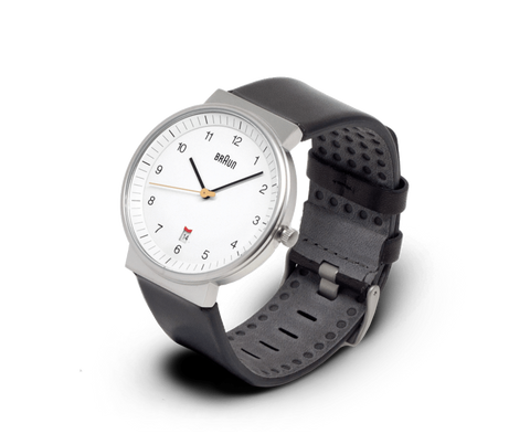 Braun Watches Braun Classic watch with Date in White