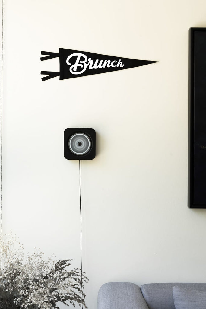 Brunch Pennant Flag. Compendium Design Store, Fremantle. AfterPay, ZipPay accepted.