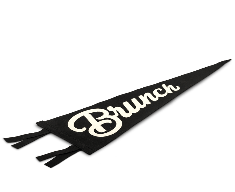 Brunch Pennant Flag