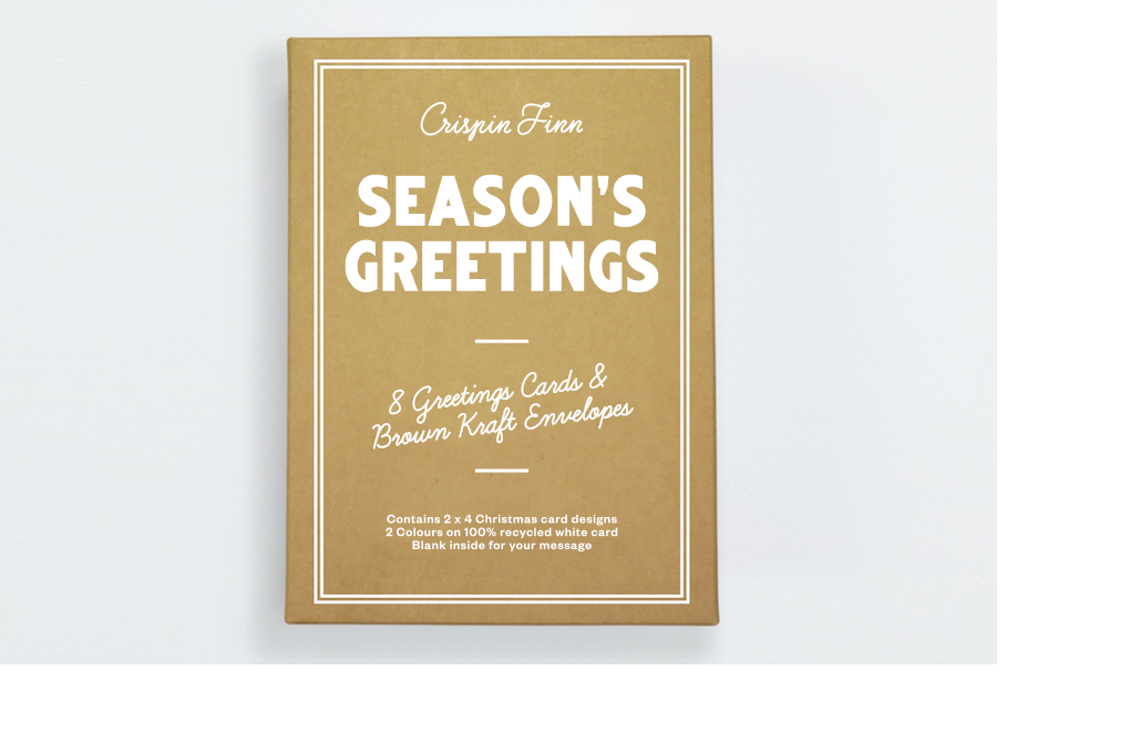Season's Greetings Box Set Crispin Finn. Compendium Design Store, Fremantle. AfterPay, ZipPay accepted.