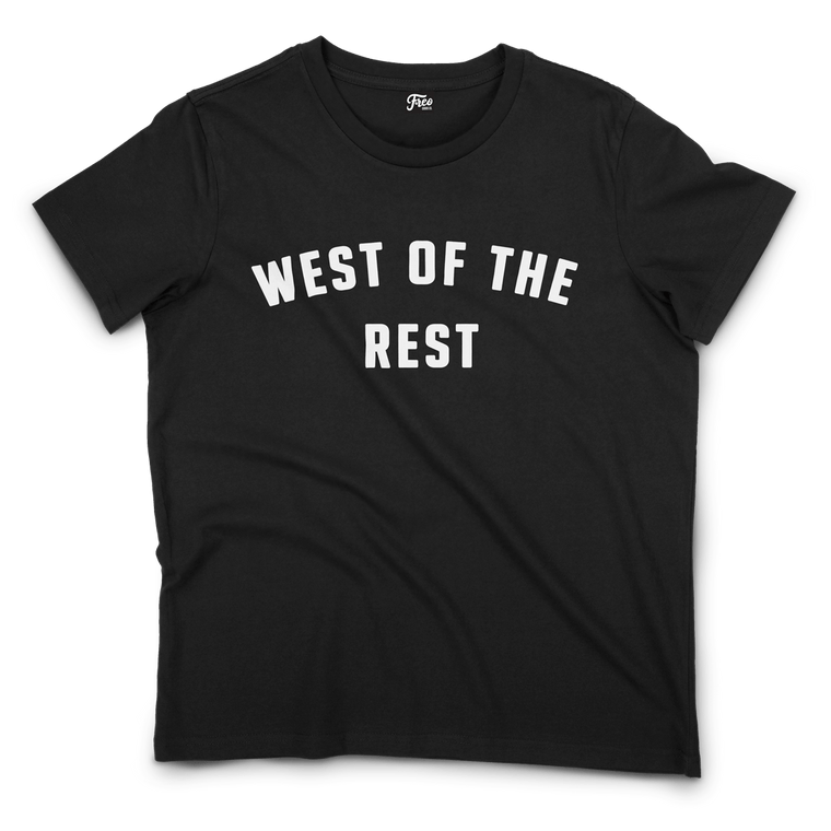 Freo Goods Co 'West Of The Rest' Organic Tee · Womens