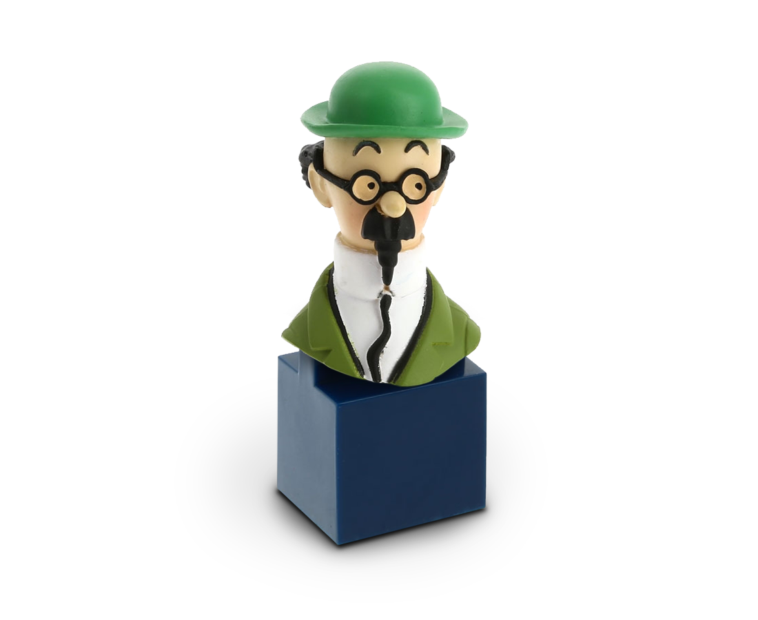 Bust figurine of Professor Calculus. Compendium Design Store, Fremantle. AfterPay, ZipPay accepted.