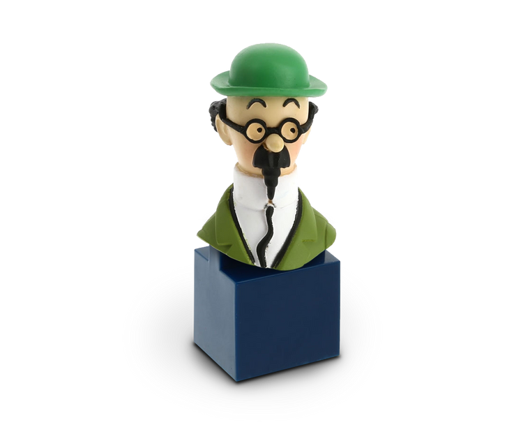 Bust figurine of Professor Calculus