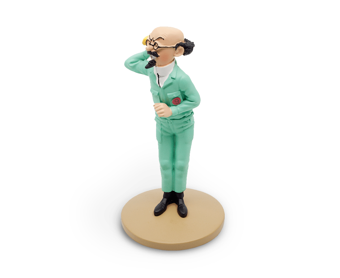 Professor Calculus On The Moon Resin Figurine. Compendium Design Store, Fremantle. AfterPay, ZipPay accepted.