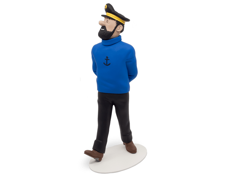 Captain Haddock Polychrome resin (25cm)