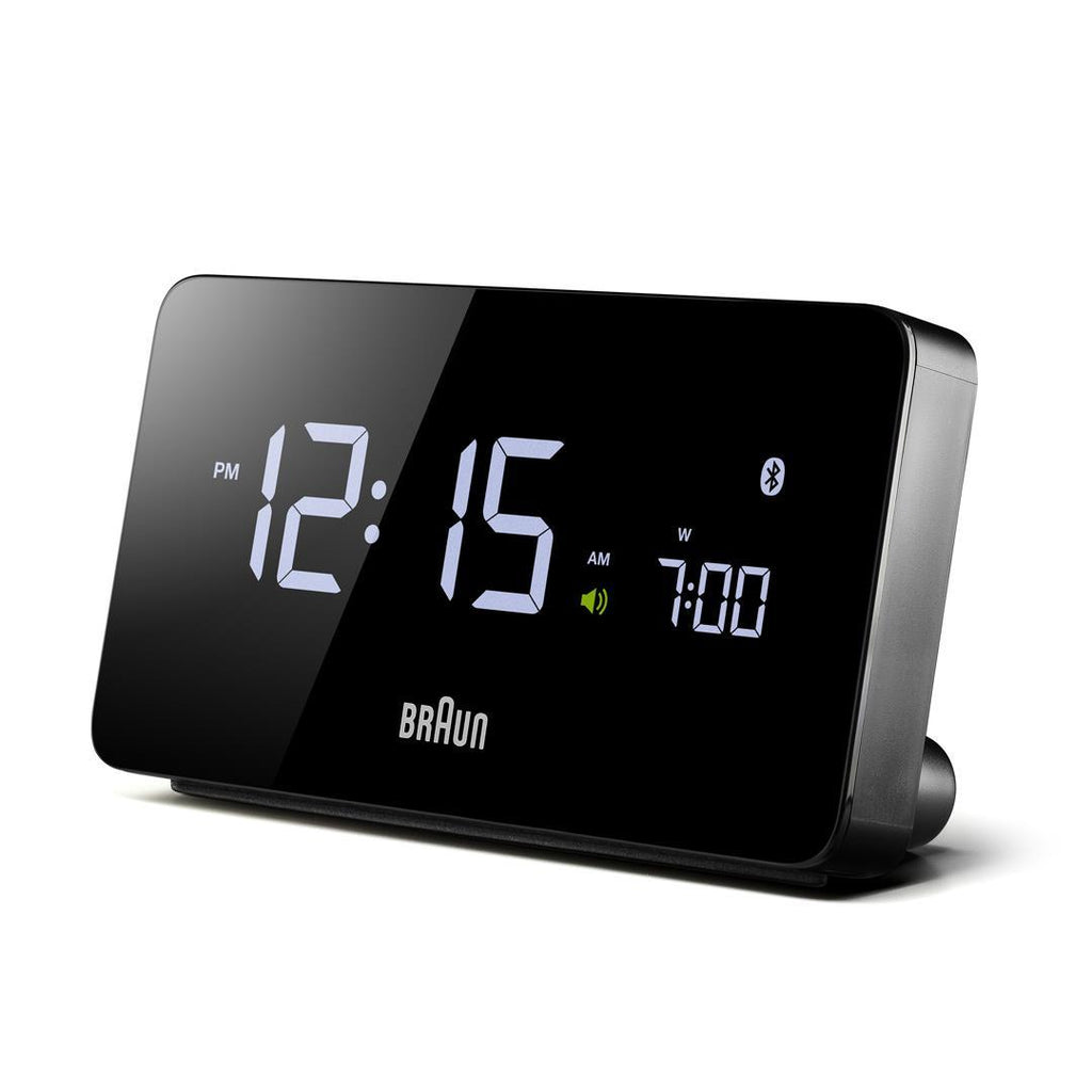 Braun BNC020 Digital Bluetooth Connected Clock. Compendium Design Store, Fremantle. AfterPay, ZipPay accepted.