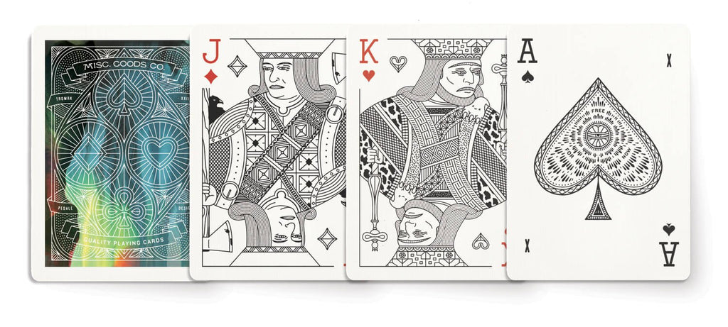 Playing cards in Cina by Misc Goods Co. USA