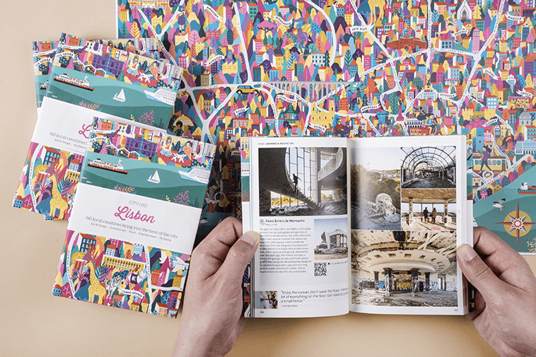 CITIx60 City Guide to Lisbon. Travel guide by local creatives.