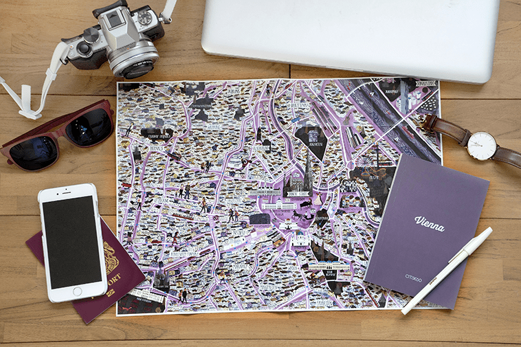 CITIx60 City Guide to Vienna. Travel guides by local creatives.
