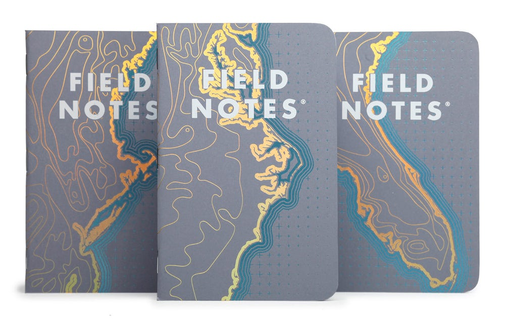 Field Notes notebooks 'Coastal' Edition 3-Pack (Small)
